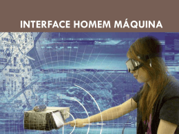 Interface homem máquina