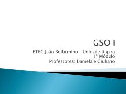 GSO I - ETEC-2009