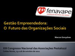 gestão empreendedora_o futuro das organizações sociais