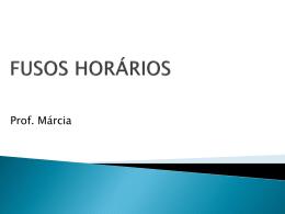 fusos horários - Colégio Energia Barreiros