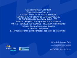 CAENE - Agenersa - Governo do Estado do Rio de Janeiro