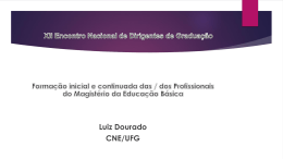 Prof. Luiz Fernandes Dourado