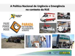 Danilo Carvalho Oliveira - Rede de Urgencia e Emergencia