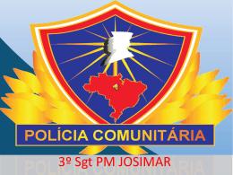Aula Policia Comunitário SGT Josimar
