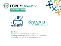 parceria fia-asap