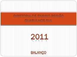 diretoria de ensino região guarulhos sul 2011 ações formativas