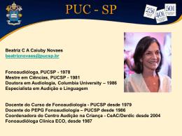 beatriz cavalcanti novaes - PUC-SP