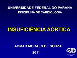 insuficiência aórtica - Hospital de Clínicas/UFPR
