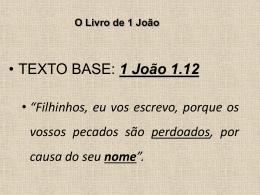 O Livro de 1 João