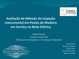 Avaliação de método de inspeção instrumental em postes de