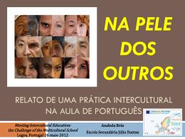 Na pele dos outros uma experiência didática intercultural