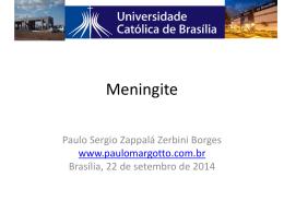 Meningite asséptica - Paulo Roberto Margotto