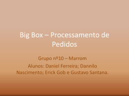 Projeto Final -Slides