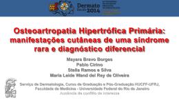 Osteoartropatia Hipertrófica Primária