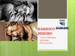 Barroco Mineiro 1a parte