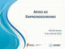 Apoio ao Empreendedorismo - IAPMEI