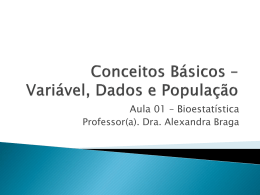 0000003_Aula 01 - Variável, Dados e População