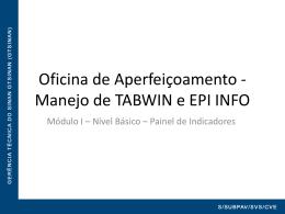 Apresentação curso TAB EPI - Saúde-Rio