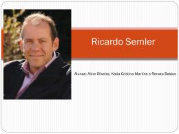 Ricardo Frank Semler - MGerhardt Consultorias