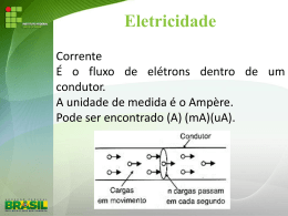 Conceitos Sobre Eletricidade - Docente