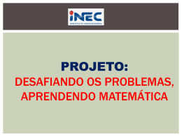 projeto de matematica