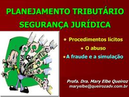 Mary Elbe Queiróz - Confira os Slides das Palestras do V CBDT!