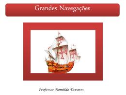 29/04/2015 - Grandes Navegações.