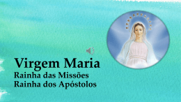2015 10 - PPT 17 Catequese Mariana