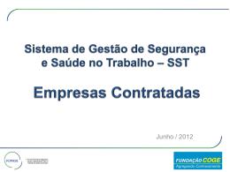 SST Empresas Contratadas