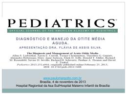 Diagnóstico e manejo da otite média aguda