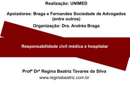 Responsabilidade civil médica e hospitalar