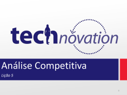 Lição 5 - Technovation