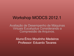 Workshop Semestral MODCS