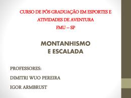 curso de pós graduação em esportes e atividades de aventura fmu