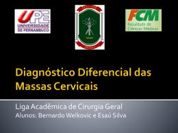 Diagnóstico Diferencial das Massas Cervicais (3,1