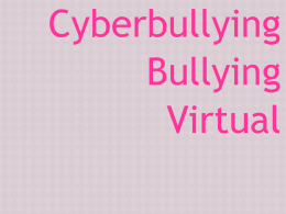 slide sobre cyberbullying