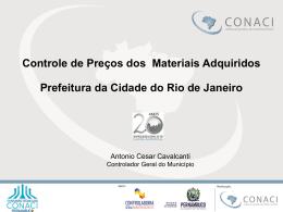 Antonio Cesar Cavalcanti – Monitoramento de Preços