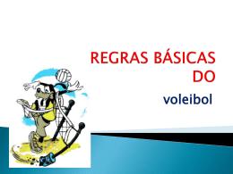 REGRAS BÁSICAS DO