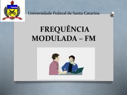 UFSC FM Frequencia modulada
