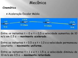 Mecânica - aula 2