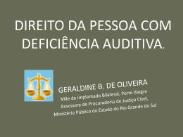DIREITO DA PESSOA COM DEFICIÊNCIA AUDITIVA site yola