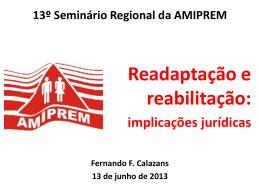 Seminário AMIPREM junho 2013