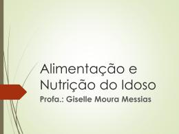 Alimentação e Nutrição do Idoso - Universidade Castelo Branco