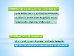 Sistema Nacional do Meio Ambiente - ex deputado Eng - CREA-SC