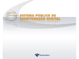 Sistema Público de Escrituração Digital - Webgiz