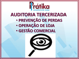 brieffing auditoria terceirizada