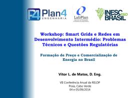 Formação de Preço e Comercialização de Energia no Brasil
