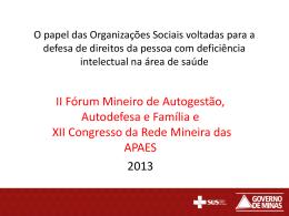 MOBILIZAÇÃO CONTRA A DENGUE - Uniapae-MG