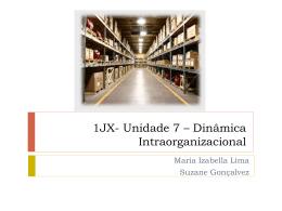 Unidade 7 – 14JX7