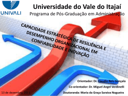 Universidade do Vale do Itajaí
